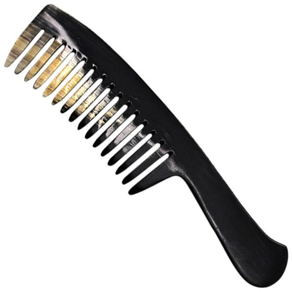L'Artisan Crateur Comb for Curly Hair ($65) ❤ liked on Polyvore featuring beauty products, haircare, hair styling tools, brushes & combs, accessories, beauty, curly hair comb, brush comb, wide comb and hair combs