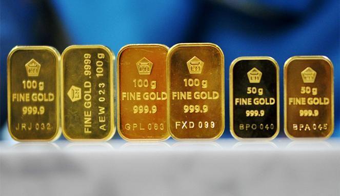 Harga Emas Antam Hari Ini Turun Rp 2 000 Per Gram Cek Disini
