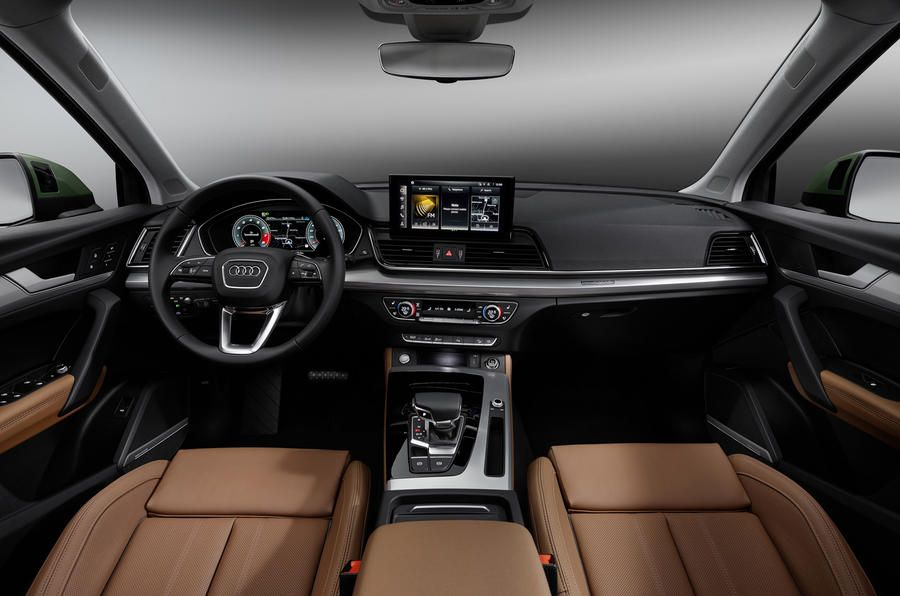Facelifted Audi Q5 Gains Mild Hybrid Tech And New Infotainment Autocar In 2020 Audi Q5 Audi Audi Rs7 Sportback
