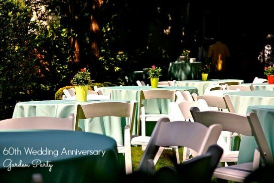 60th Wedding Anniversary Party Ideas - Perfect For A Diamond ...