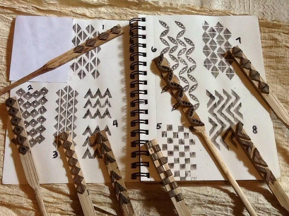 Ohe Kapala Bamboo Stamps Kapa Hawaii Llc Hawaiian Tattoo Hawaiian Art Hawaiian Crafts