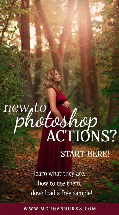 New to Photoshop Actions? Start here! - Morgan Burks Photoshop Tutorials