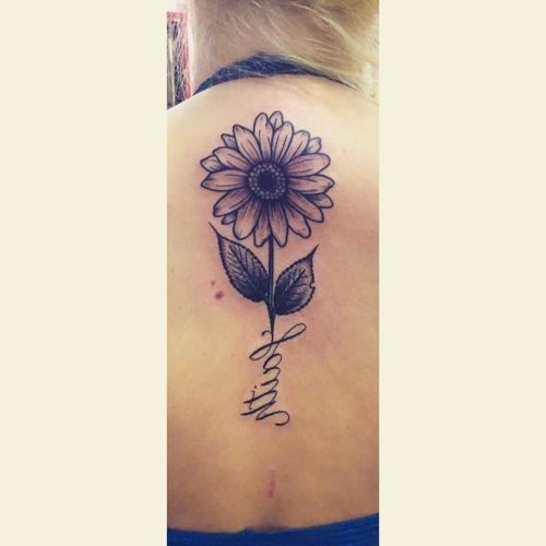 Photo of Sunflower Arrow Tattoo