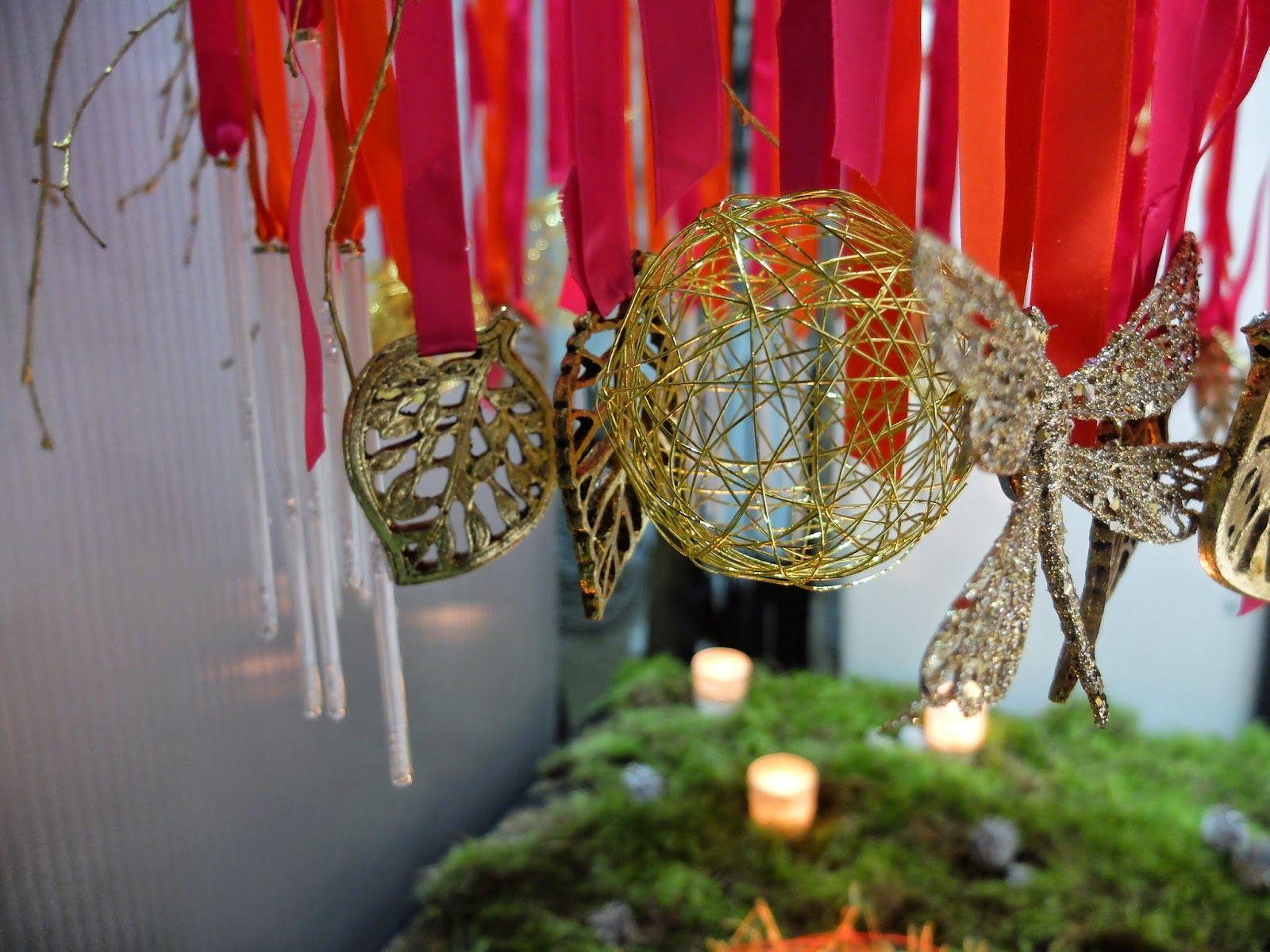 Escaparate navide o en la floreria taller de arte floral - Motivos de la navidad ...