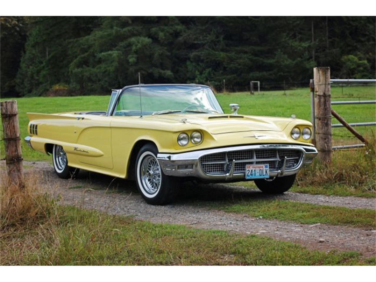 1960 Ford Thunderbird Ford Thunderbird Vehicles Ford Classic Cars