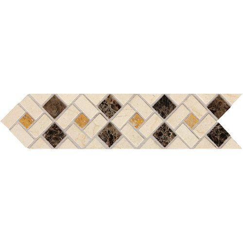 Decorative Accent Tile Captivating Check Out This Daltile Product Fashion Accents Pinwheel 3 X 12 Review