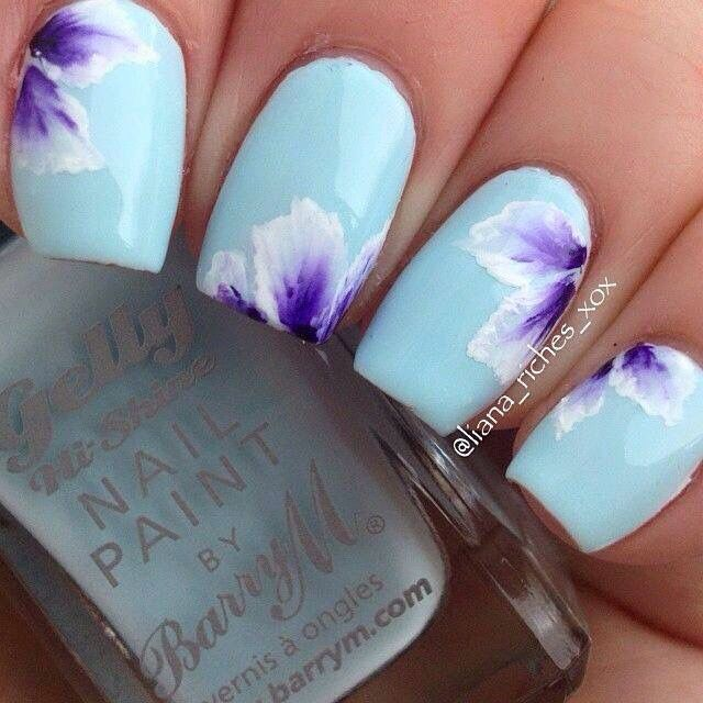 Pin by Julianna Pinero on Nails   Pinterest   Flower nail art and ...