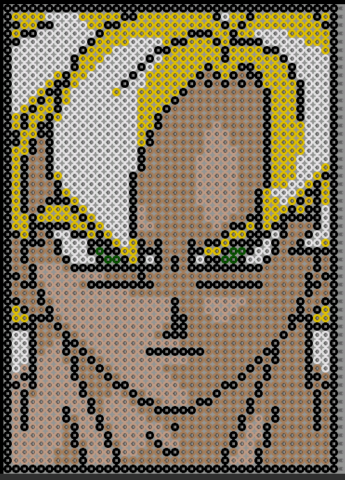 Dragon Ball Perles à Repasser Perler Party Pixel Art