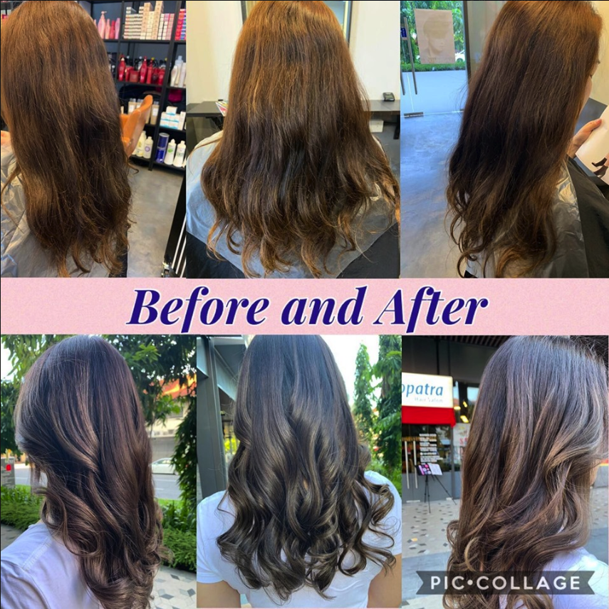 Digital Perm Digital Perm Permed Hairstyles Digital Perm Before And After