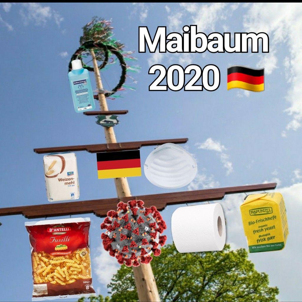Mai 1. MAI Maibaum lustig 2020