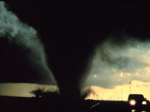 Storm brewing about tornado safety