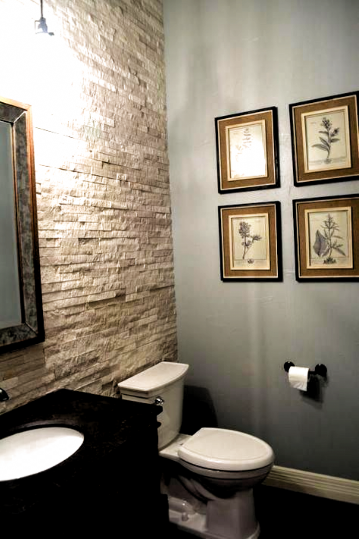 Cheap And Easy Useful Tips Bathroom Remodel Neutral Cabinets Bathroom Remodel Diy Shelves Bathroom Remod In 2020 Simple Bathroom Decor Basement Bathroom Half Bathroom