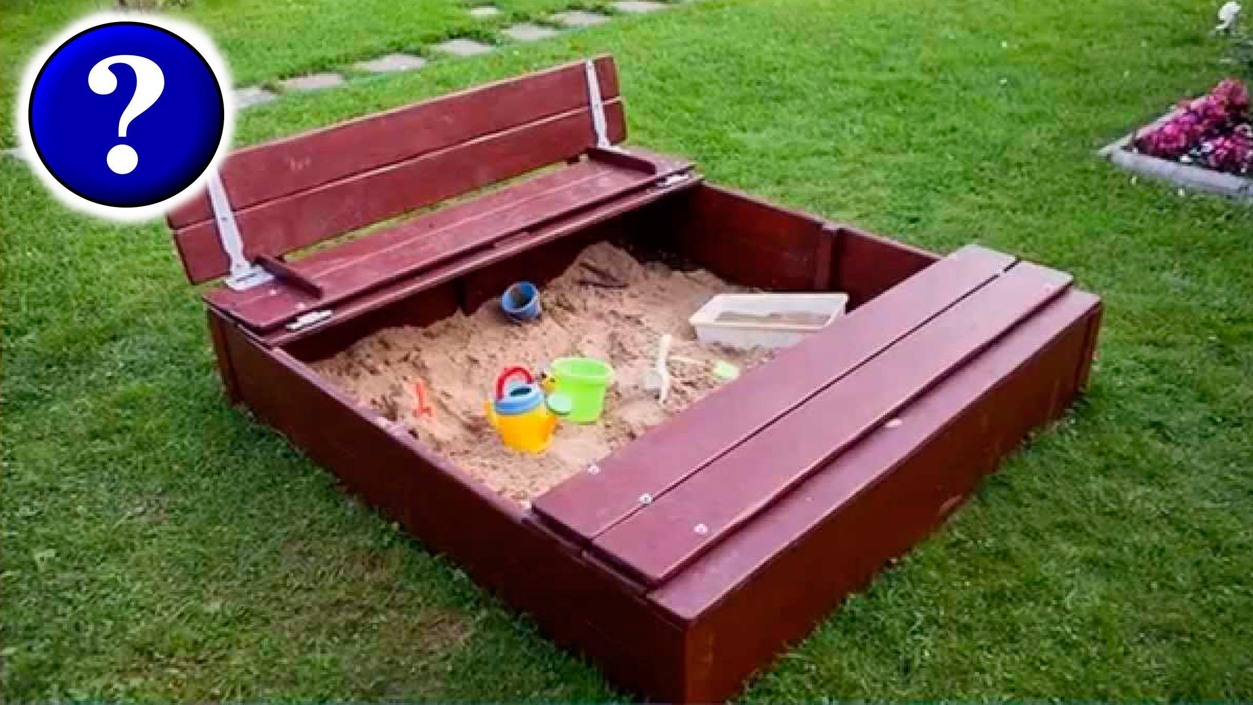 два ребенка одна песочница