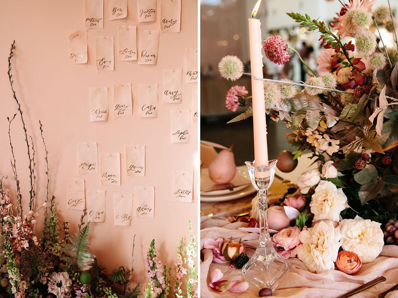#placecards #wedding #flowers