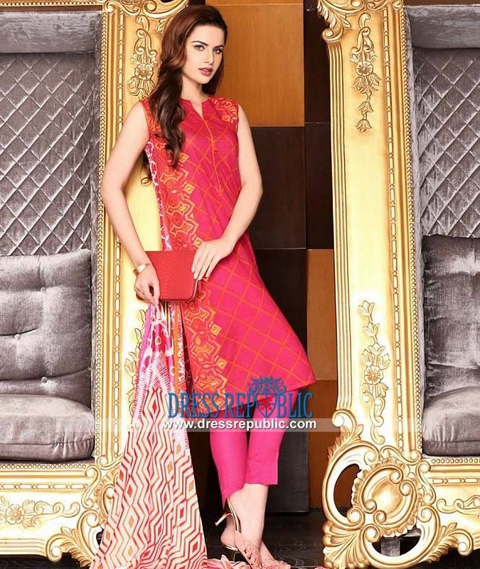 Pakistani Designer Lawn Suits - Nishat Spring Summer Collection ...