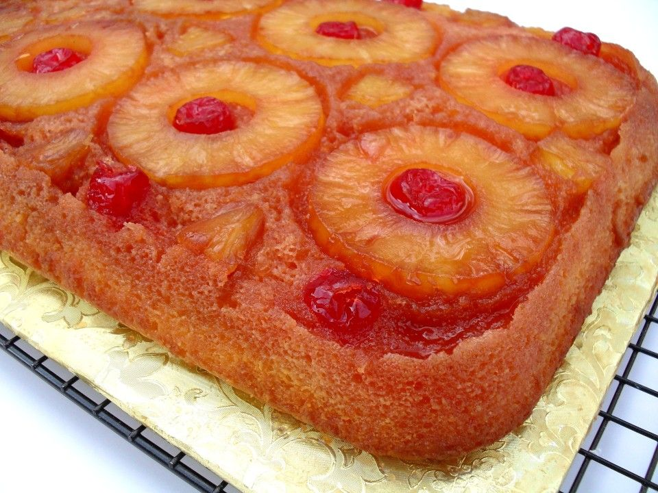 Recipe For Jamaican Pineapple Upside Down Cake