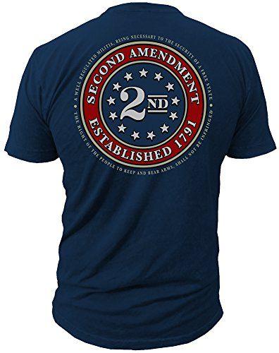Liberty Keep & Bear Arms 2nd Amendment Freedom 1791 Vintage Short-Sleeve T-Shirt FxQ0D