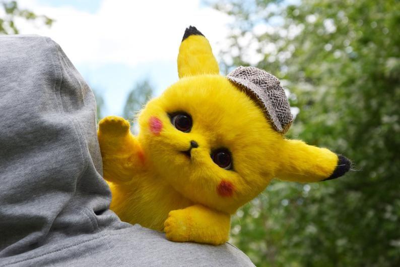 Detective Pikachu   Cute kawaii animals, Pikachu, Pikachu ...
