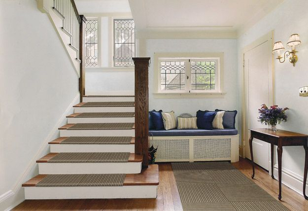 Modern Treads Stair Tread Carpet · Entryway IdeasHallway ...