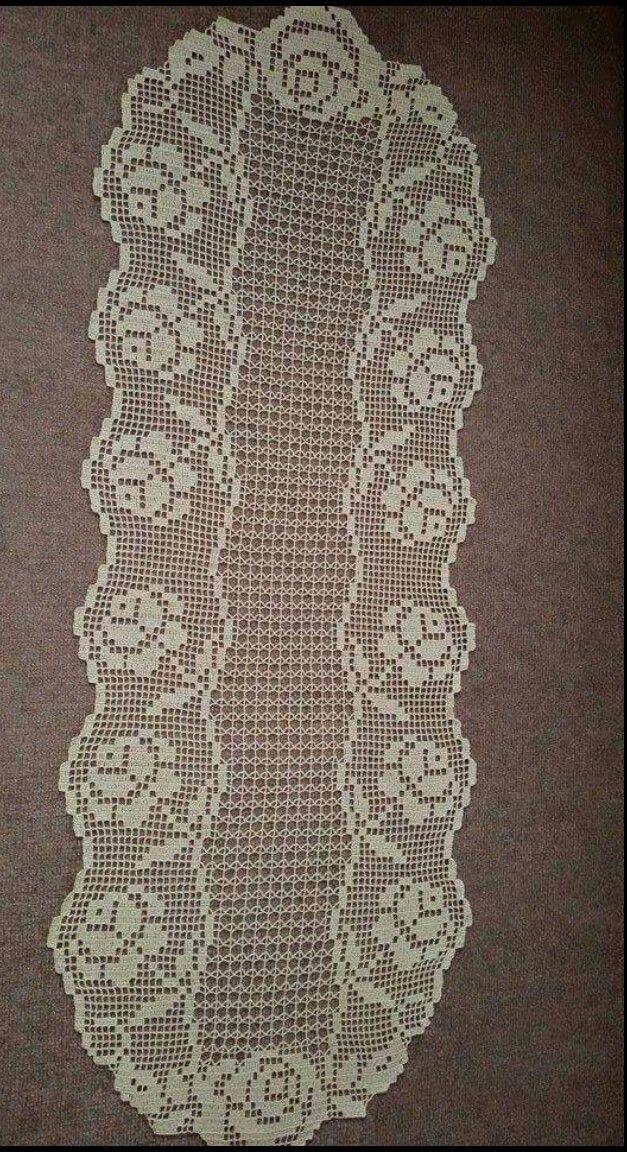 Pin de berrin *** en dantel/anglez/lace/crochet/handmade | Pinterest ...