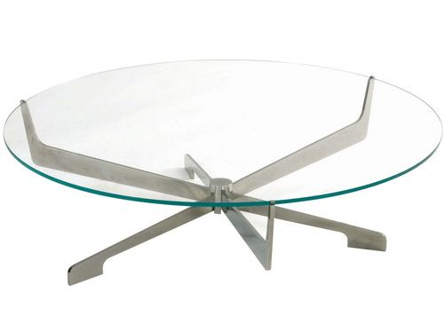 60 Inch Round Glass Coffee Table