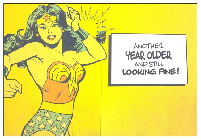Wonder Woman Birthday Card Australia Nz 2012 Wonder Woman