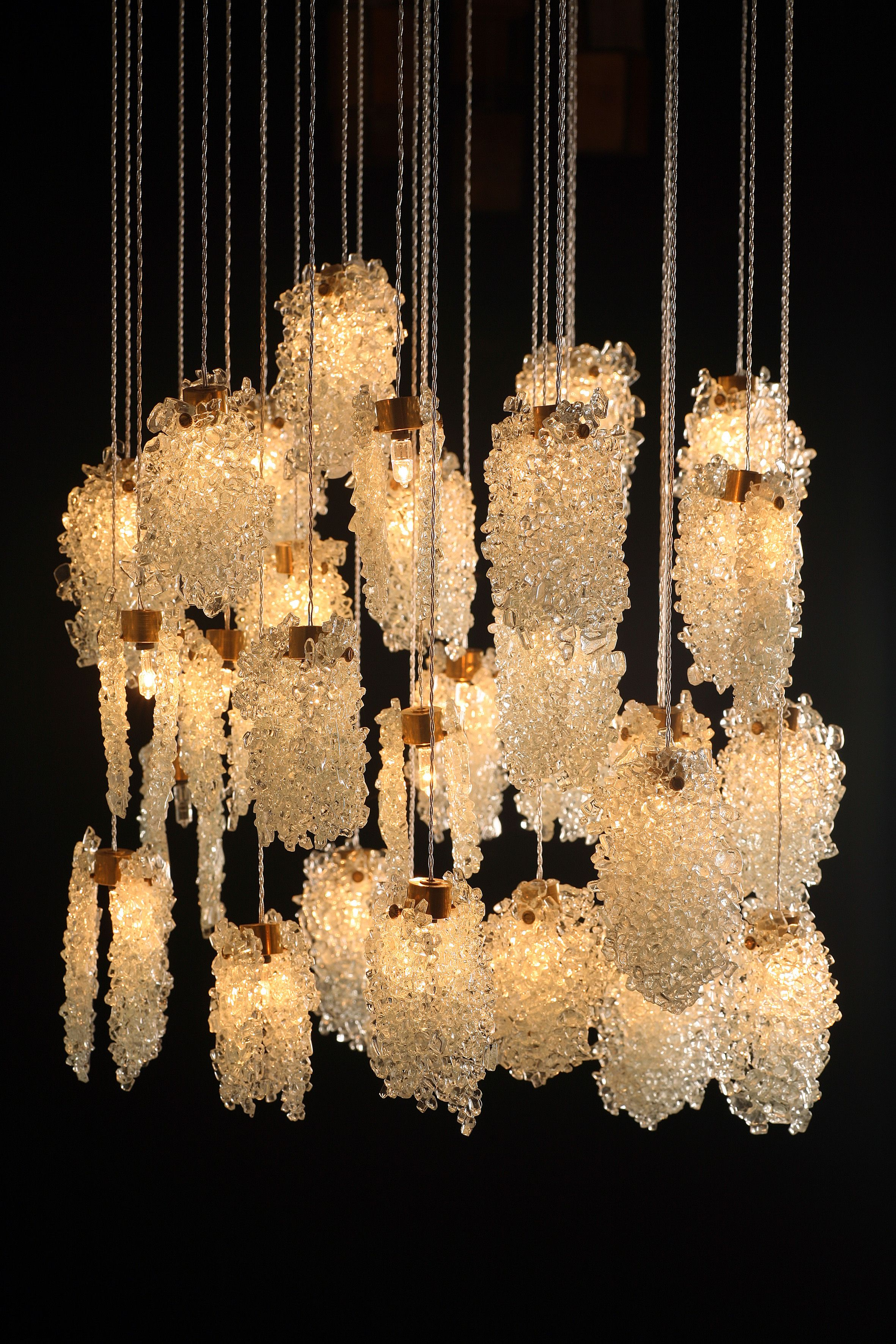 Galilee lighting modern lighting miami showroom for unique custom hand crafted art glass chandeliers sconces and pendant lights aloadofball Choice Image