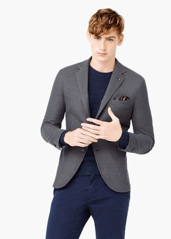 Moda Americanas Blazer Hombre Otoño Invierno 2015 2016  7829d9d0358