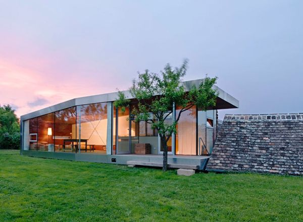 Contemporary Country House By Austrian Architects Countryside