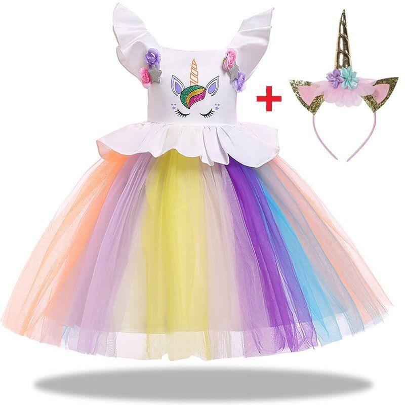 0203cf51c308 Colorful Unicorn Party Dress | Time to be a Unicorn | Wedding ...