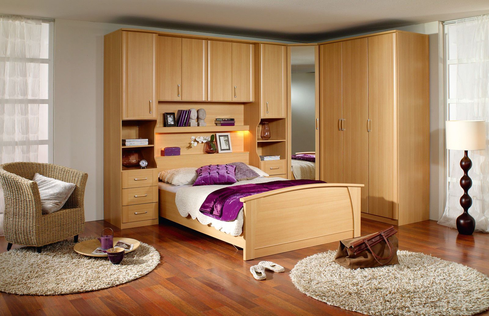 details about rauch overbed unit and wardrobes excluding bedframe large living room furniture