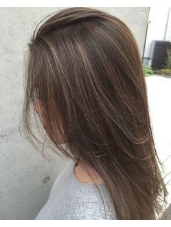 Acqua 外国人風 大人 上品 3dハイライトカラー L002619687 アクアオモテサンドウ Acqua Omotesando のヘアカタログ ホットペッパービューティー 黒髪のヘアスタイル ヘアスタイリング 髪 色