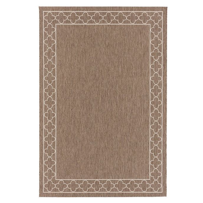 Suzanne Kasler Quatrefoil Border Indoor Outdoor Rug With Images Outdoor Rugs Quatrefoil Indoor Outdoor Rugs