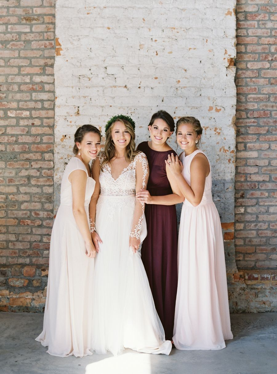 Southern style wedding dresses   Bridesmaids  Groomsmen for a Brunch Style Wedding  Brunch