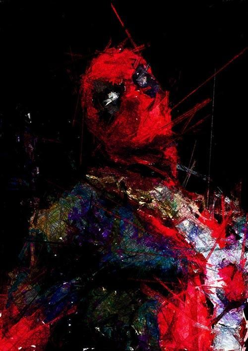 #Deadpool #Fan #Art. (Deadpool Painting) By: Dito Sugito. (THE * 5 * STÅR * ÅWARD * OF: * AW YEAH, IT'S MAJOR ÅWESOMENESS!!!™)[THANK U 4 PINNING!!!<·><]<©>ÅÅÅ+(OB4E)                          https://s-media-cache-ak0.pinimg.com/564x/67/91/dd/6791dd510a9882150683be9f557b7bce.jpg