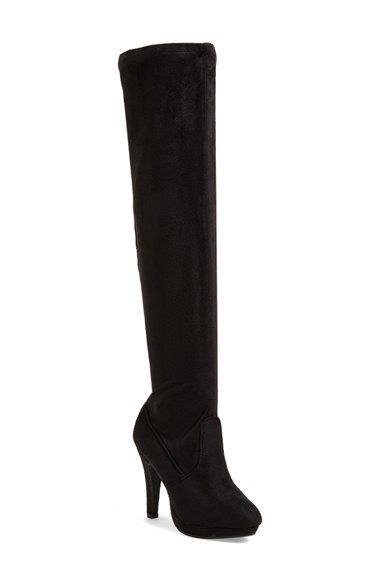 Free shipping and returns on REPORT 'Nadya' Over The Knee Boot (Women) at Nordstrom.com. Embrace the allure of a stunning over-the-knee boot styled with a rich sueded upper with a hint of stretch for a perfect fit.