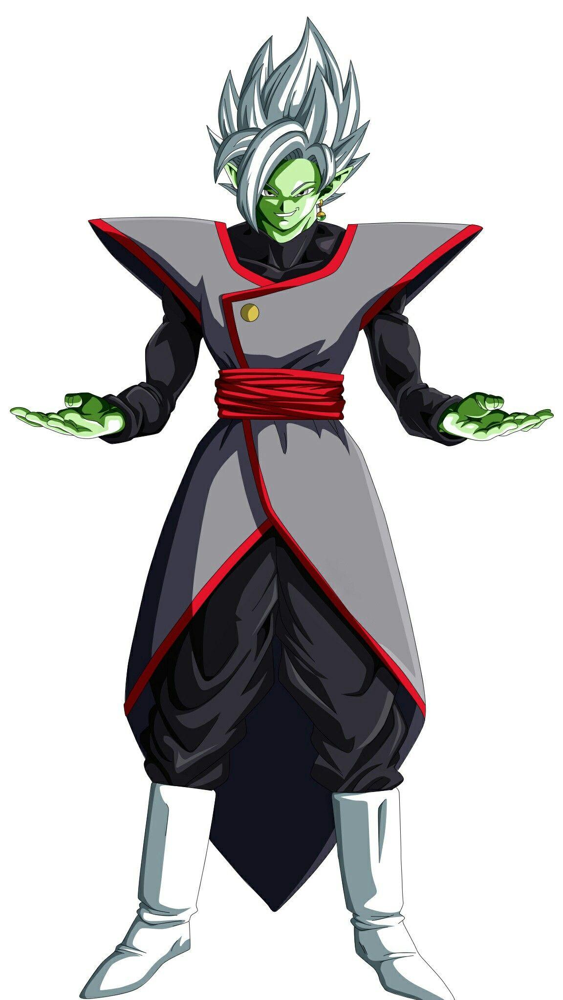 Zamasu Fusion Dragon Ball Z Dbz Characters Dragon Ball