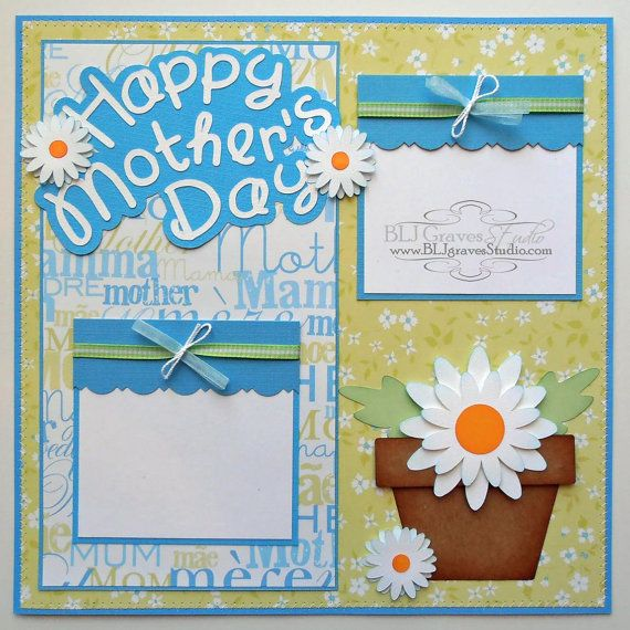 GIFT TAGS FOR SCRAPBOOK PAGES 16 MOTHER/'S DAY CHILDREN RETRO ANIMALS HANG 06