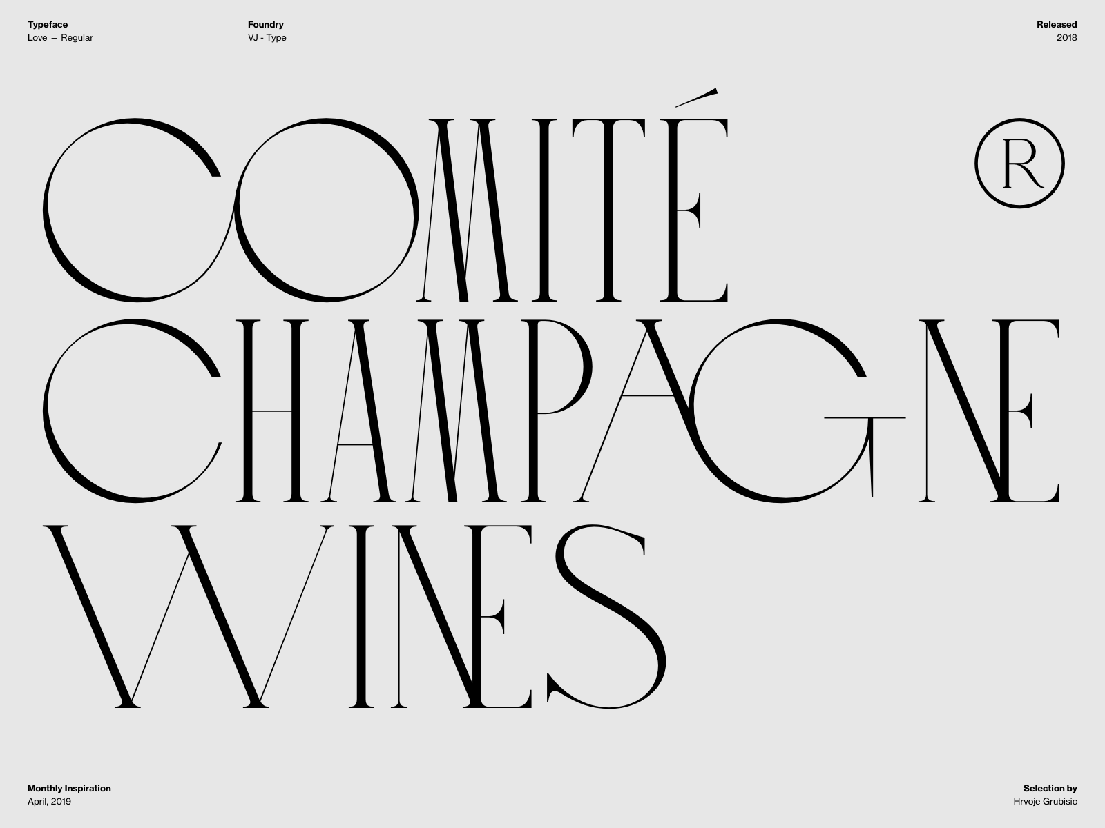 Typography Inspiration April 2019 Font Selection Typography Inspiration April 2019 Font Selection In 2020 Typography Inspiration Typography Art Deco Typography