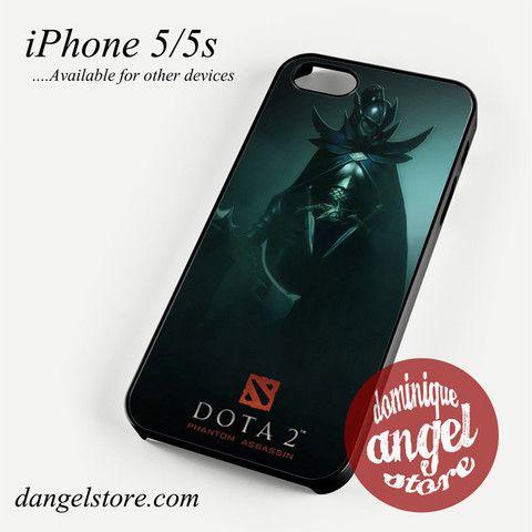 Dota 2 Phantom Assassin Phone case for iPhone 4/4s/5/5c/5s/6/6 plus