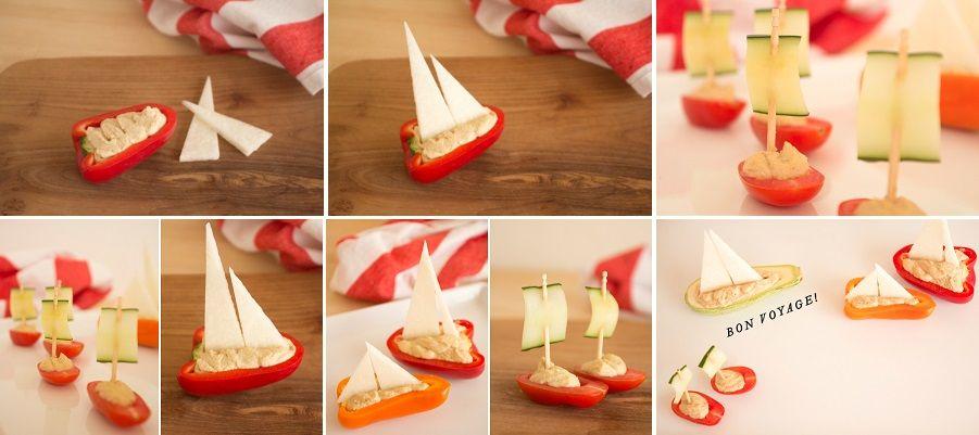 Ciekawe rzeczy zrobione z jedzenia - dekoracja każdej imprezy