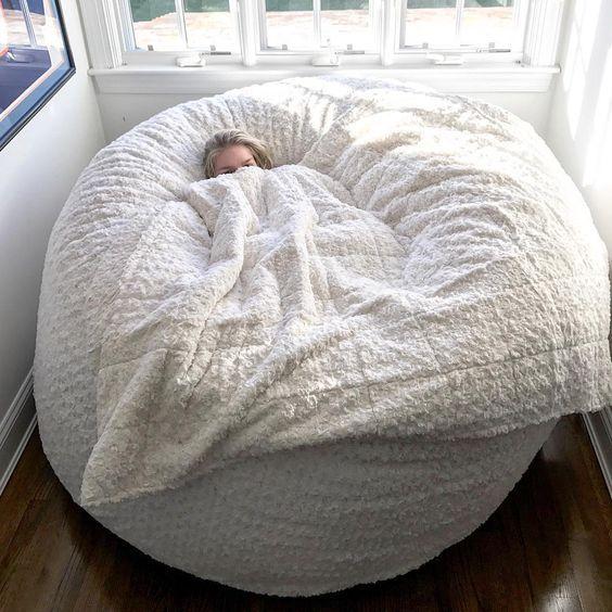 Bean Bag Chair, Cozy Room, Dream Bedroom