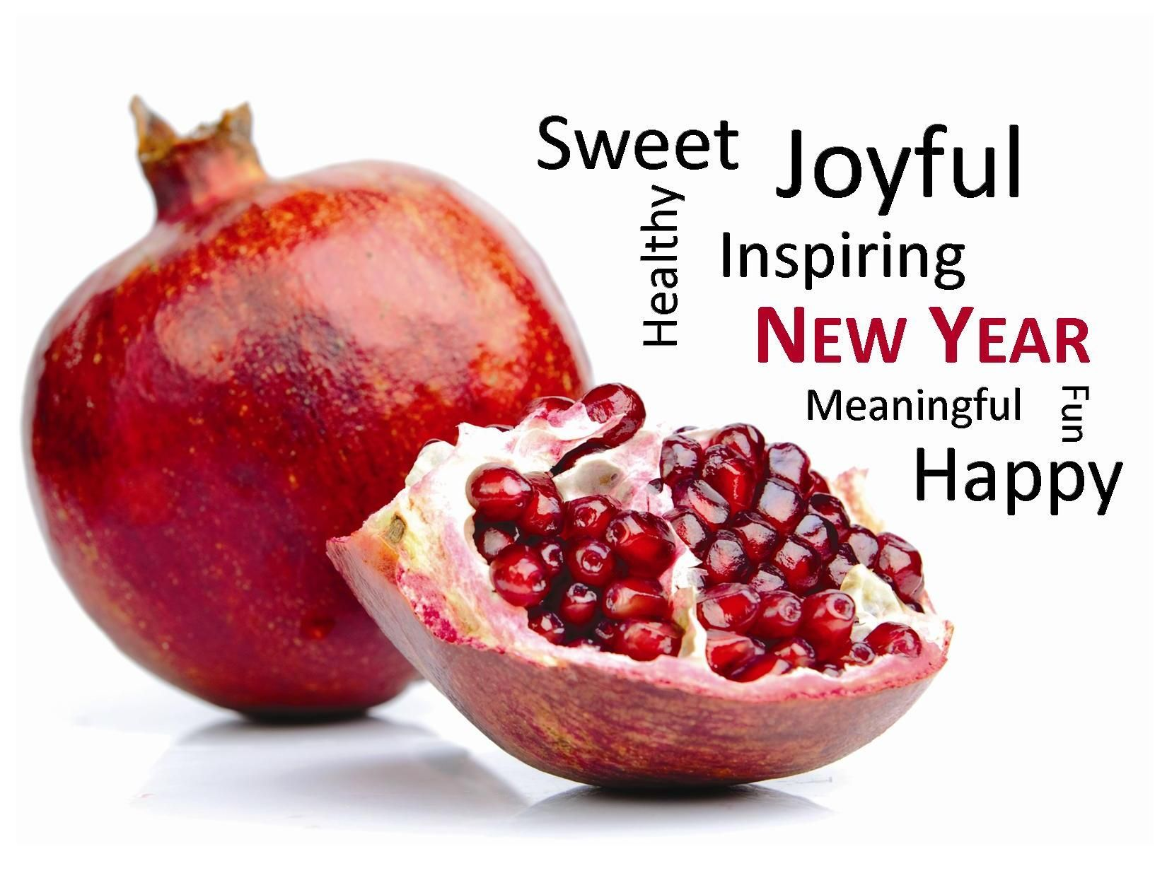 Image result for rosh hashanah and pomegranate