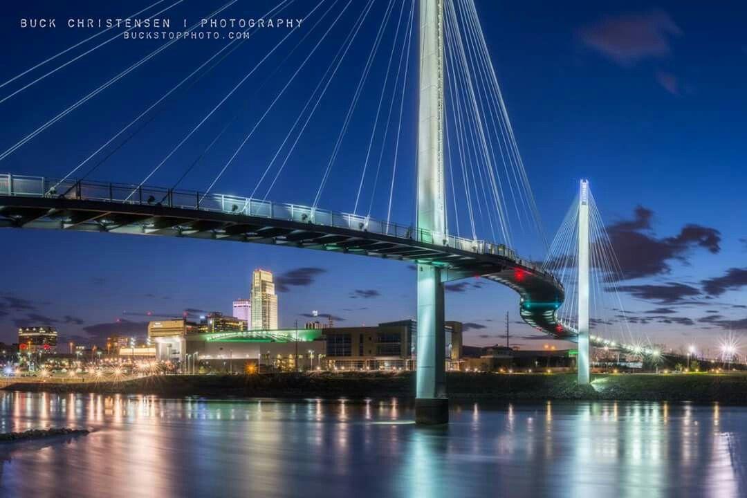 Bob kerrey pedestrian bridge pedestrian bridge scenic