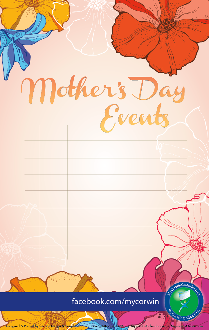 Mother\'s Day Event Poster | Template