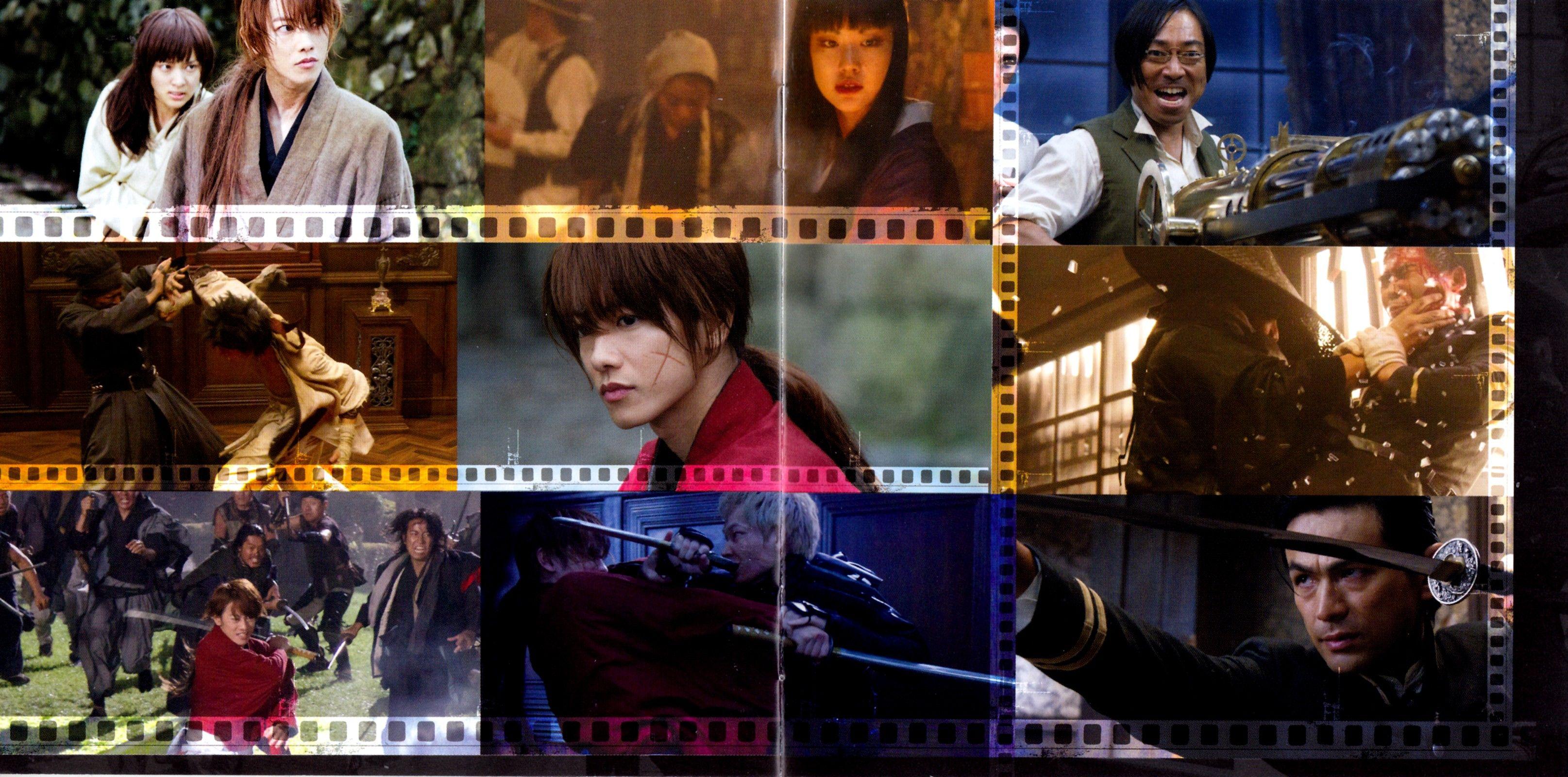 Rurouni Kenshin live action, Kenshin Himura, Kaour Kamiya ...