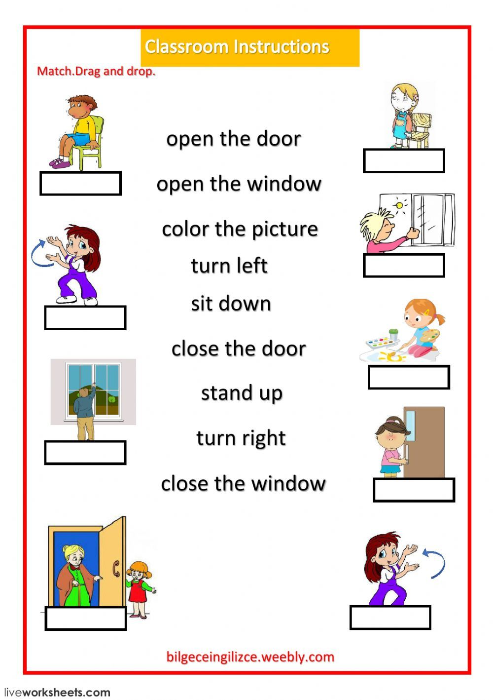 Classroom Language Interactive And Downloadable Worksheet You Can Do The Exercises Online Or Classroom Instruction Classroom Language English Lessons For Kids [ 1418 x 1000 Pixel ]