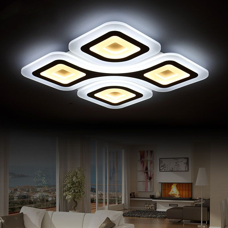 Télé mande salon chambre moderne led plafond lumi¨res luminarias