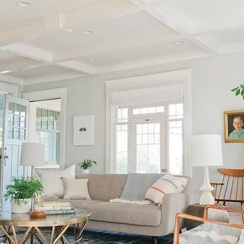 Aloof Gray Vintage Living Room Sherwin Williams Aloof