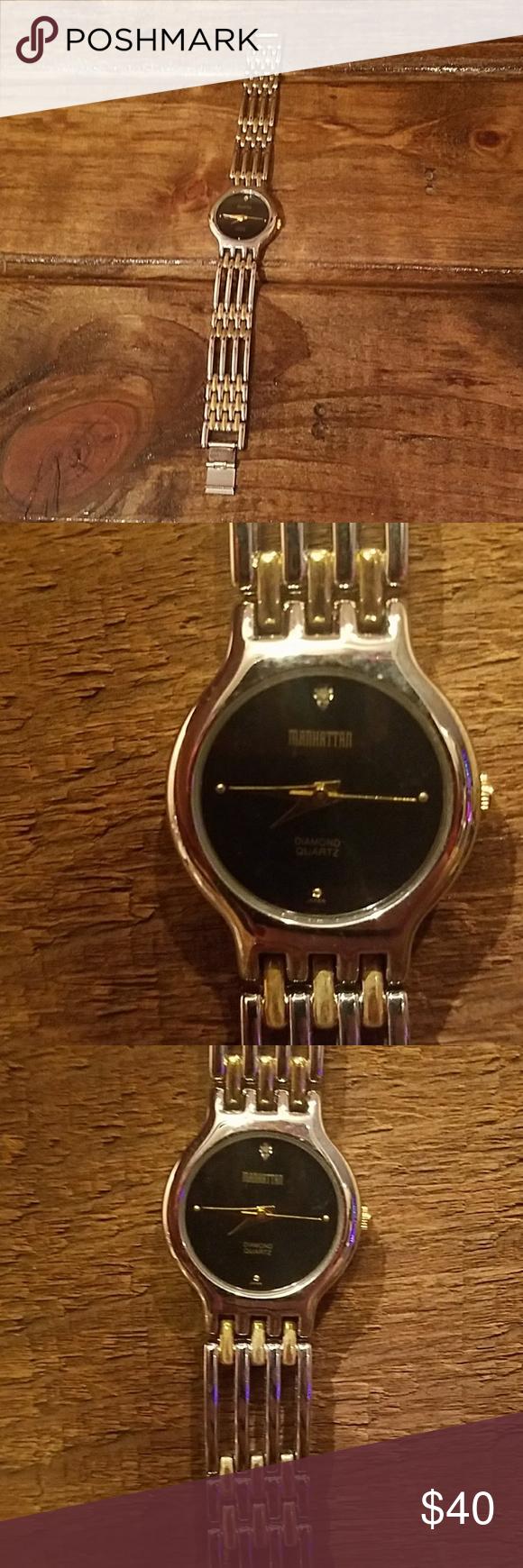Manhattan Diamond Quartz Watch Manhattan Diamond Quartz Watch Two
